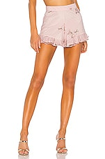MAJORELLE Whitney Shorts in Princess Pink