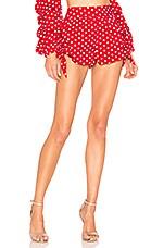 MAJORELLE Lovebug Shorts in Polka Dot