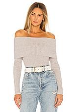 MAJORELLE Mareen Sweater in Light Grey