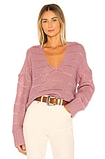 MAJORELLE Brenda Sweater in Dusty Lilac