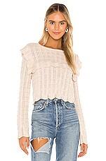 MAJORELLE Vidalia Sweater in Ivory