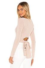 MAJORELLE Bicoastal Sweater in Blush