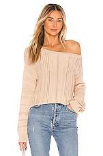 MAJORELLE Drexel Sweater in Neutral