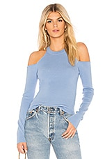 MAJORELLE Gemma Crop Sweater in Baby Blue