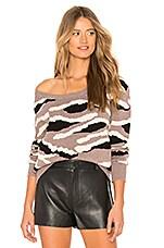MAJORELLE Glorious Sweater in Multi Tiger