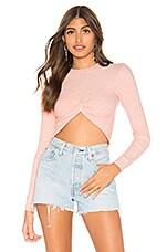 MAJORELLE Odette Sweater in Blush