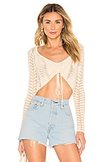 MAJORELLE Macadamia Sweater in Cream