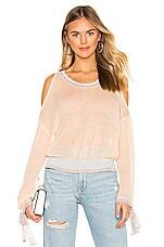 MAJORELLE Daphne Sweater in Blush