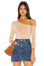 MAJORELLE Maya Sweater in Tan