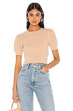 MAJORELLE Harper Sweater in Tan