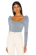 MAJORELLE Harbor Sweater in Cloud Blue
