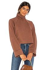 MAJORELLE Mischa Sweater in Red Wood