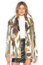 MAJORELLE Colton Coat in Arctic Multi