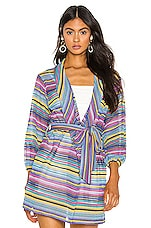 MAJORELLE Neo Robe in Rainbow