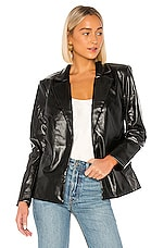 MAJORELLE Von Blazer Jacket in Black