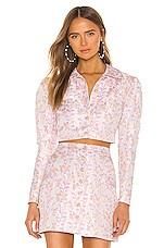 MAJORELLE Reno Jacket in Pink Fantasy
