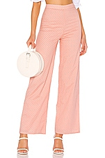 MAJORELLE Brandy Pants in Pink Dot