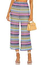MAJORELLE Rebecca Pant in Rainbow