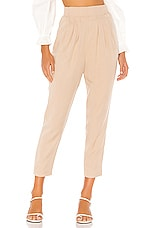 MAJORELLE Naples Pant in Taupe