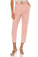 MAJORELLE Charles Pant in Dusty Pink