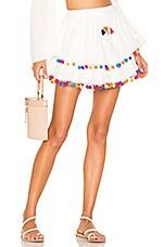 MAJORELLE Calypso Skirt in Ivory