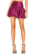 MAJORELLE Elena Mini Skirt in Fuchsia Pink
