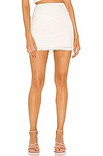MAJORELLE Finnley Skirt in White