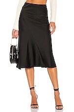 MAJORELLE Kara Skirt In Black