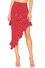 MAJORELLE Sugar Rush Skirt in Polka Dot