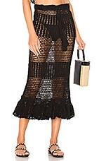 MAJORELLE Mikah Skirt in Black