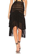 MAJORELLE Heidi Skirt in Black