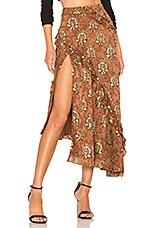 MAJORELLE Tallulah Skirt in Arabian Copper