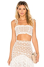 MAJORELLE Sawyer Top in White