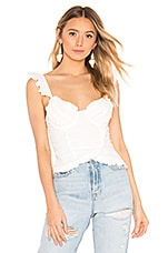 MAJORELLE Atwater Top in Ivory