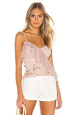 MAJORELLE Sasha Top in Princess Pink