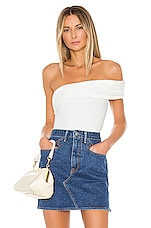 MAJORELLE Savannah Bodysuit in White
