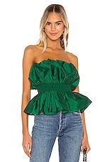 MAJORELLE Natasia Top in Green