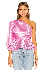MAJORELLE Nico Top in Princess Pink