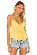 MAJORELLE Silo Top in Canary Yellow