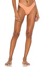 MINIMALE ANIMALE The Soho Rib Brief Bikini Bottom in Ultra