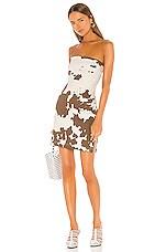 Miaou Lotte Dress in Cow Print