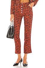Miaou Junior Pant in Red Leopard