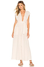 Mara Hoffman Whitney Jumpsuit in White Sand