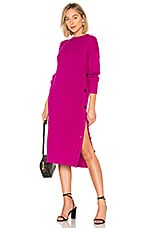 Mara Hoffman Fayre Sweater Dress in Raspberry