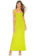 Mara Hoffman Michaela Dress in Lime