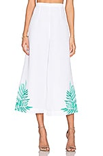 JUPE CULOTTE EMBROIDERED