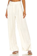 Mara Hoffman Caressa Pant in Cream