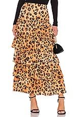 Mara Hoffman Marzia Skirt in Brown Multi