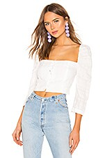 Mara Hoffman Isadora Top in White