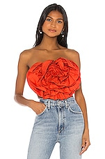 Mara Hoffman Rose Top in Red